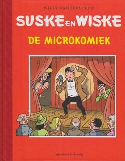 """Luxe hardcover """"De microkomiek""""."""