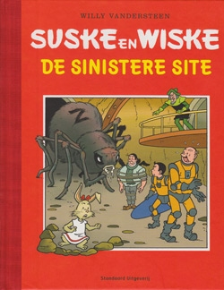 "Luxe hardcover ""De sinistere site""."