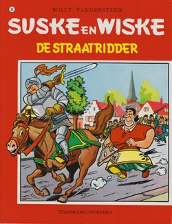 Suske en Wiske softcover nummer: 83. Oude cover.