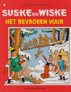 Suske en Wiske softcover nummer: 141. Oude cover.