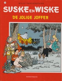 Suske en Wiske softcover nummer: 210. Oude cover.