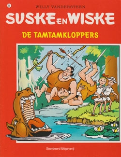 Suske en Wiske softcover nummer: 88. Oude cover.