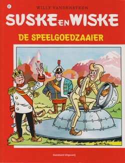 Suske en Wiske softcover nummer: 91. Oude cover.