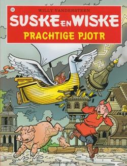 Suske en Wiske softcover nummer: 253. Hertekende cover.