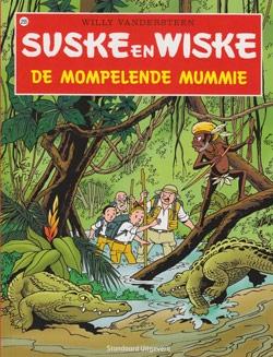 Suske en Wiske softcover nummer: 255. Hertekende cover.