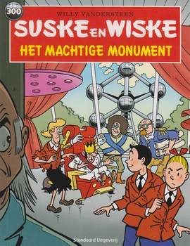 Suske en Wiske softcover nummer: 300. Hertekende cover.