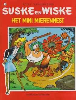 Suske en Wiske softcover nummer: 75. Oude cover.