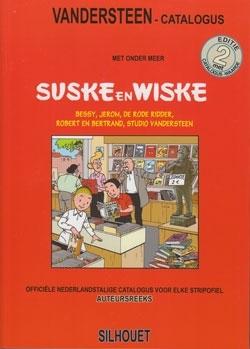 Vandersteen catalogus softcover 2008 (met blauwe boekje).