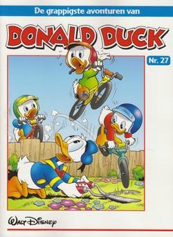 """Donald Duck """"De grappigste avonturen"""" softcover nummer: 27."""