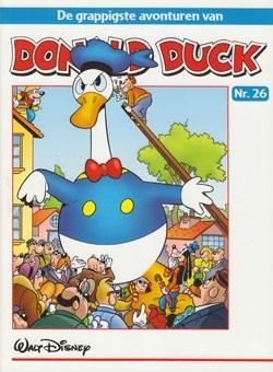 """Donald Duck """"De grappigste avonturen"""" softcover nummer: 26."""