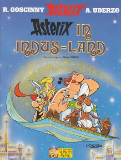 Asterix softcover, Asterix in Indus-land.
