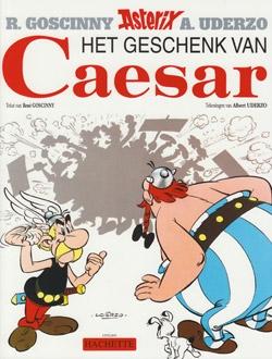Asterix softcover, Het geschenk van Caesar.
