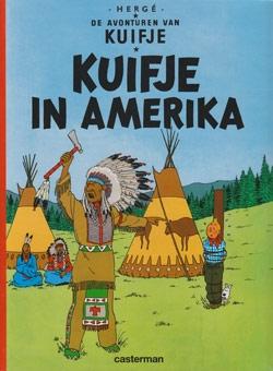 Kuifje softcover Kuifje in Amerika.