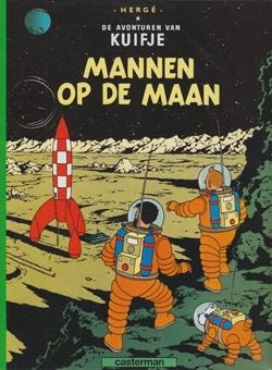 Kuifje softcover Mannen op de maan.
