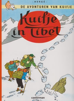 Kuifje softcover Kuifje in Tibet.