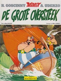 Asterix softcover, De grote oversteek.