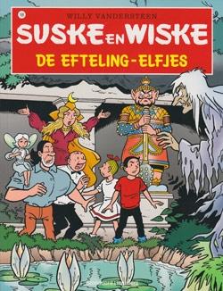 Softcover De efteling-elfjes (Efteling) 2009 met sticker.