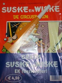Suske en Wiske softcover nummer: 81 + EK feesttoeter.