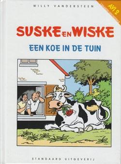 Suske en Wiske Leesboekje - Een koe in de tuin.