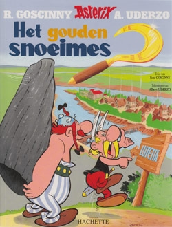 Asterix softcover, Het gouden snoeimes.