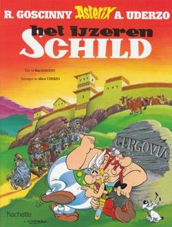 Asterix softcover, Het ijzeren schild.