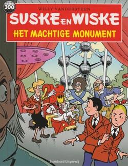 Het machtige monument (Atomium).