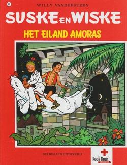 Softcover Het eiland amoras (Rode Kruis).