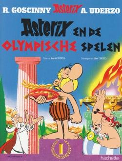 Asterix softcover, Asterix en de olympische spelen.