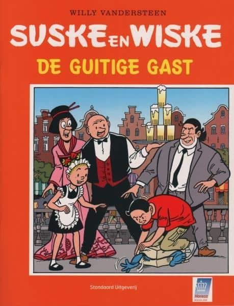 Suske en Wiske softcover, De guitige gast (KHN) 2004.