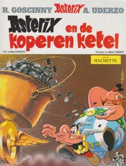 Asterix softcover, Asterix en de koperen ketel.