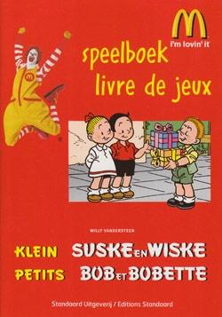 Klein Suske en Wiske speelboek softcover (Mc Donalds).