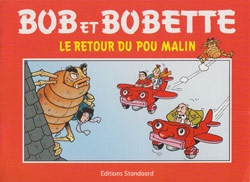 Franse softcover Le retour du pou malin (Omega pharma).
