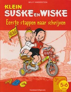 Klein Suske en Wiske softcover Eerste stappen naar schrijven
