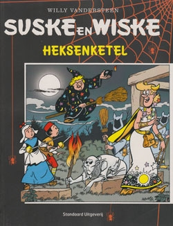 Softcover Suske en Wiske Heksenketel.