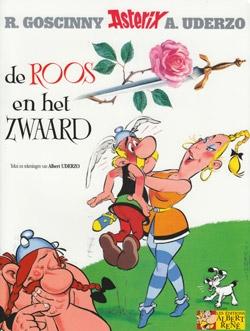 Asterix softcover, De roos en het zwaard.