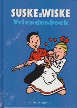 Suske en Wiske vriendenboek.
