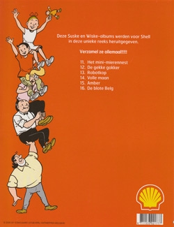 Serie Shell softcover uitgave nummer 11 t/m 16.