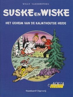Softcover Het geheim van de Kalmthoutse heide blauw (Aqua).