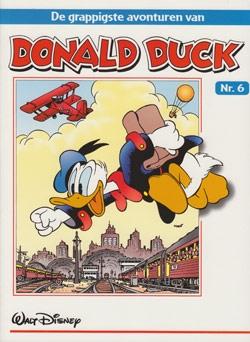 """Donald Duck """"De grappigste avonturen"""" softcover nummer: 6."""