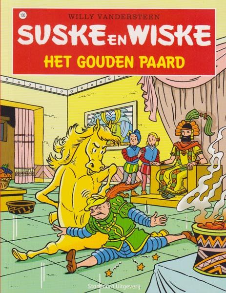 Suske en Wiske softcover nummer: 100. Hertekende cover.