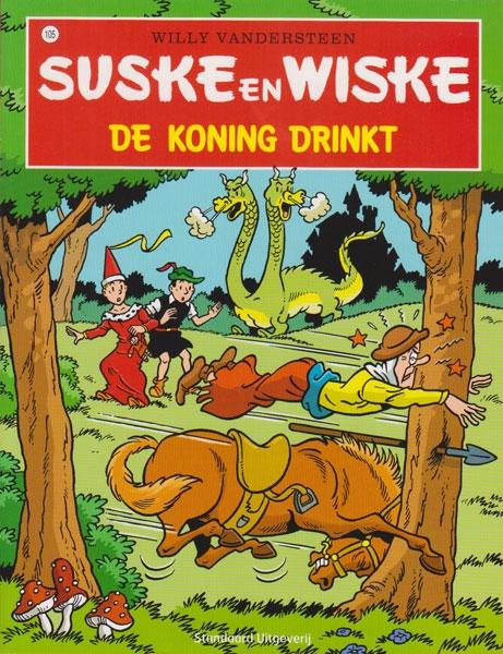 Suske en Wiske softcover nummer: 105. Hertekende cover.