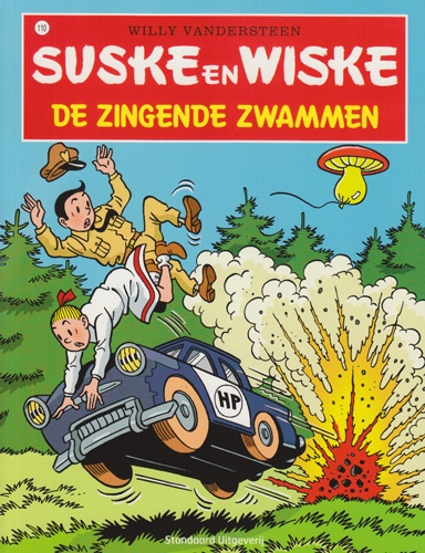 Suske en Wiske softcover nummer: 110. Hertekende cover.