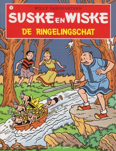 Suske en Wiske softcover nummer: 137. Hertekende cover.