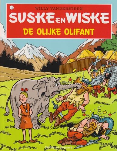 Suske en Wiske softcover nummer: 170. Hertekende cover.