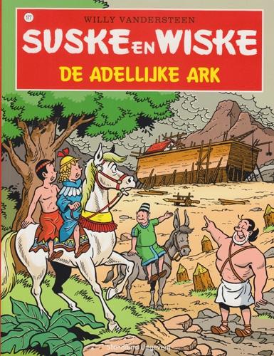 Suske en Wiske softcover nummer: 177. Hertekende cover.