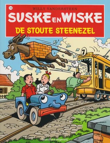 Suske en Wiske softcover nummer: 178. Hertekende cover.
