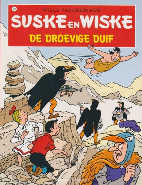 Suske en Wiske softcover nummer: 187. Hertekende cover.