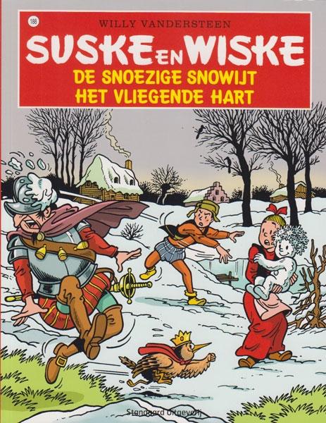 Suske en Wiske softcover nummer: 188. Hertekende cover.