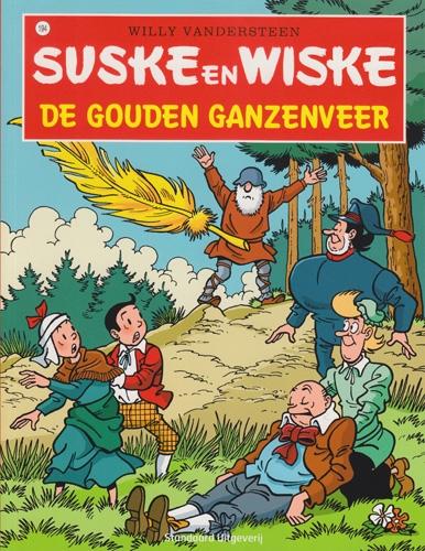 Suske en Wiske softcover nummer: 194. Hertekende cover.