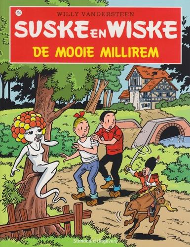 Suske en Wiske softcover nummer: 204. Hertekende cover.